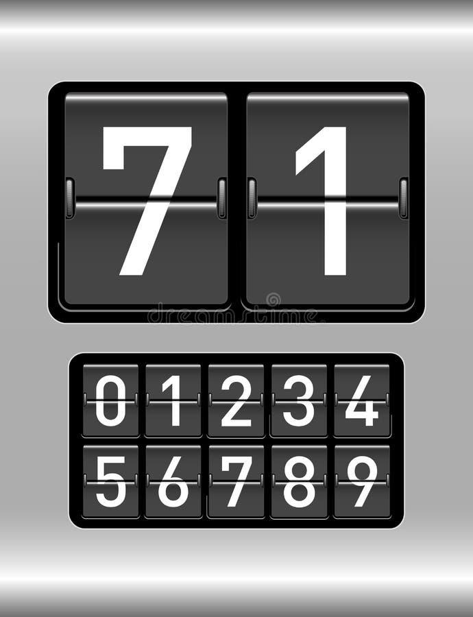 读秒定时器 库存例证