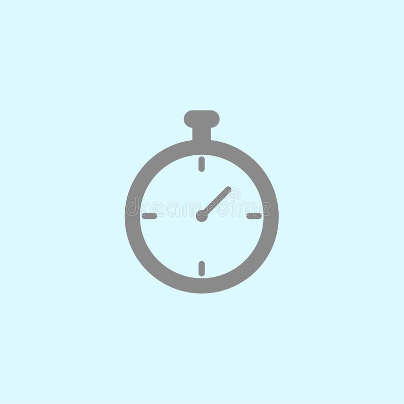 秒表象 库存例证