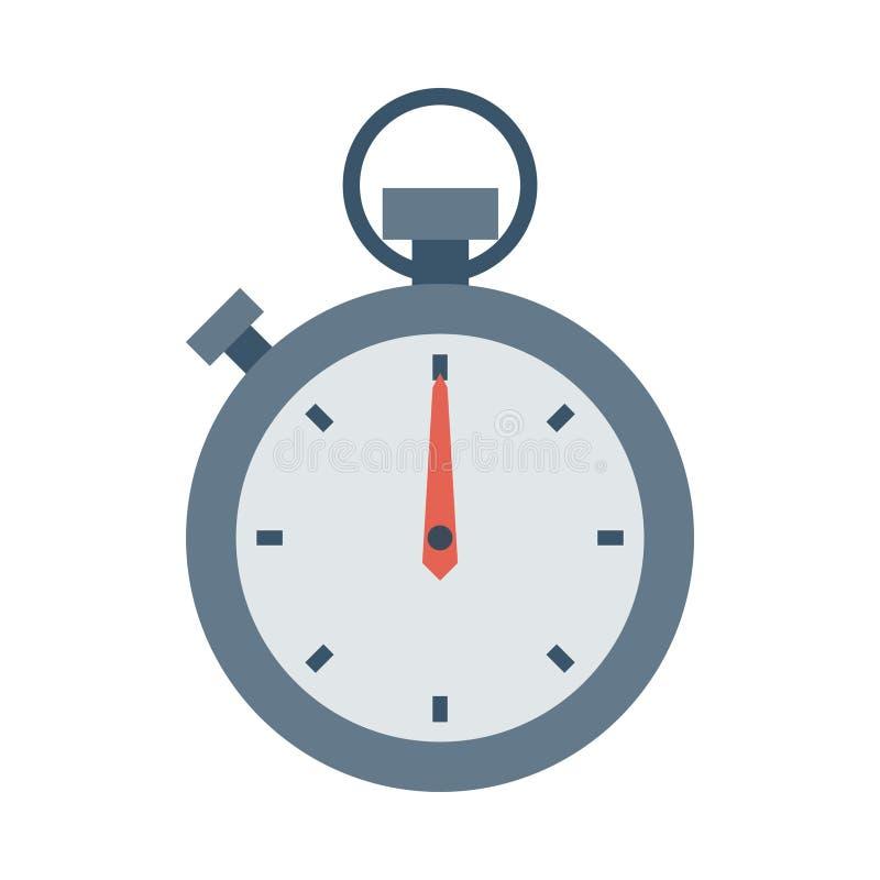 秒表象 向量例证
