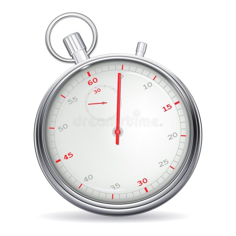 秒表 向量例证