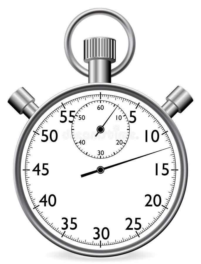 秒表 库存例证