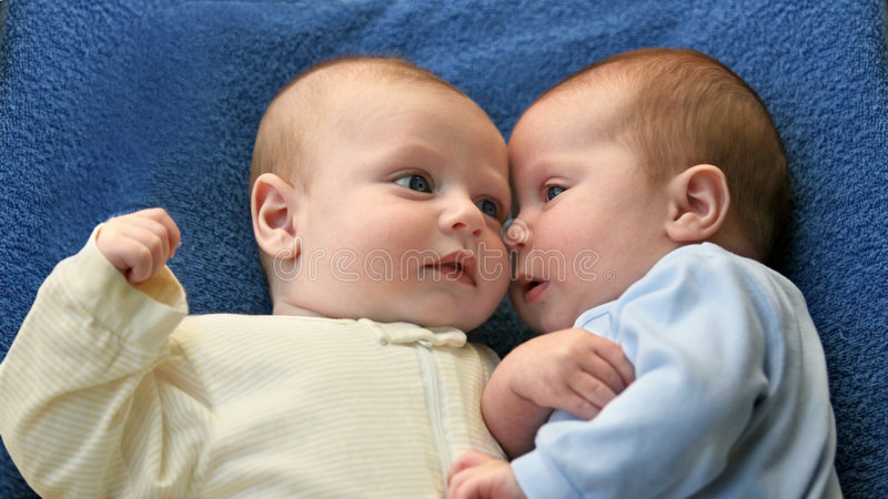 秘密的婴孩 免版税库存照片