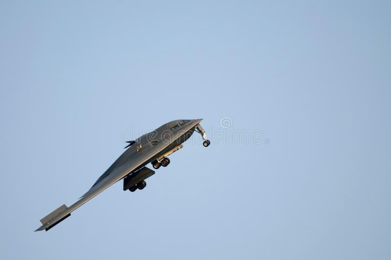 秘密行动B2轰炸机 免版税库存图片