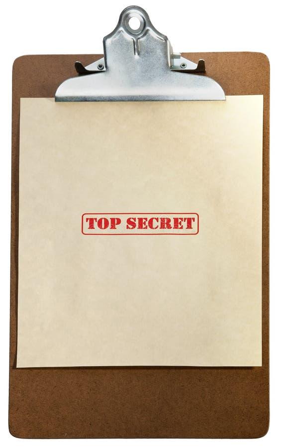 秘密顶层 免版税图库摄影