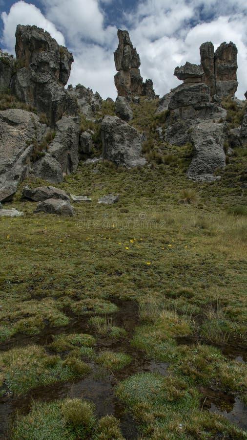 秘鲁的魔术 图库摄影