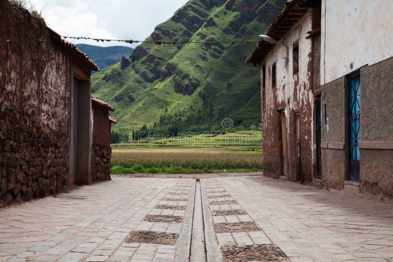 秘鲁神圣的谷 库存图片