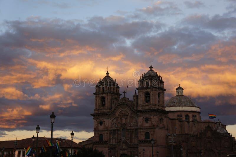 秘鲁-库斯科 库存照片