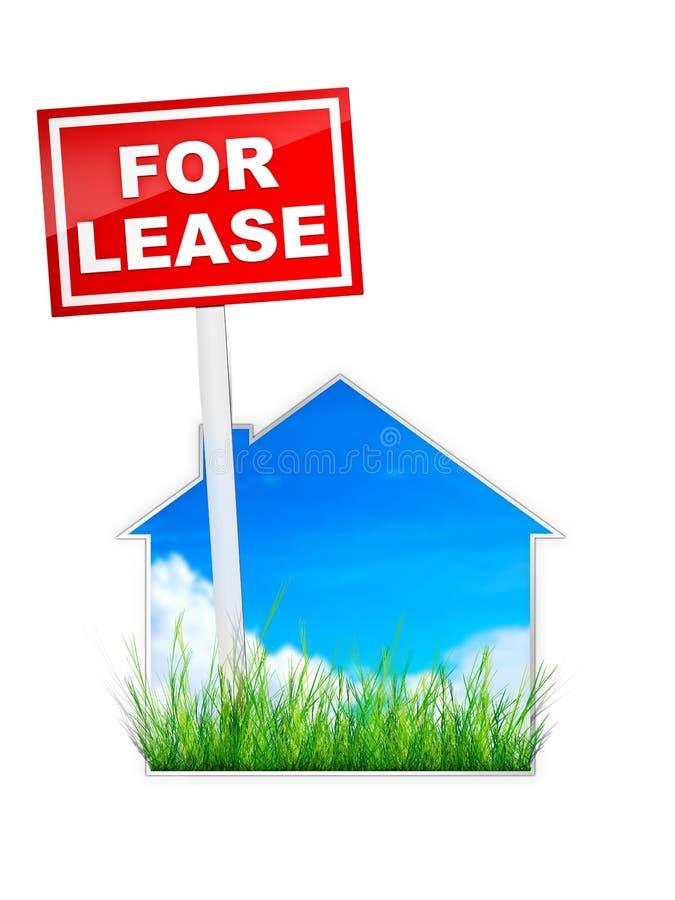 租赁资产 向量例证