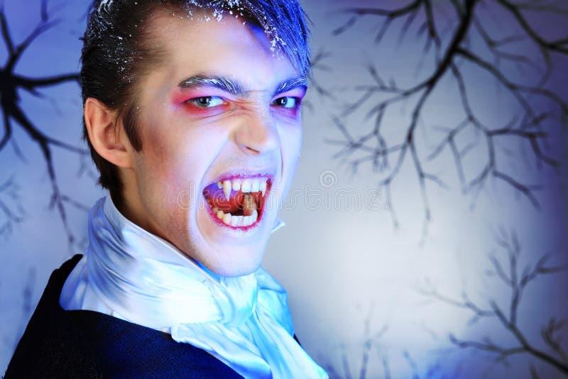 积极的吸血鬼 库存照片