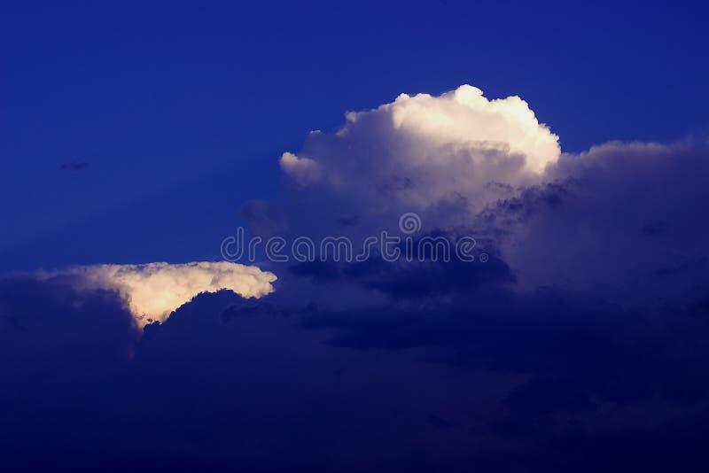 积雨云 库存照片