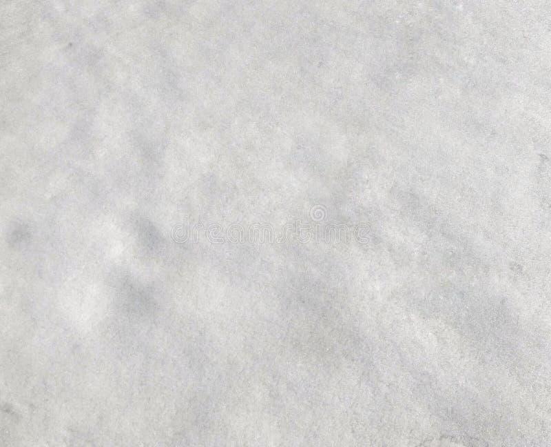积雪的表面,与闪闪发光的纹理 图库摄影