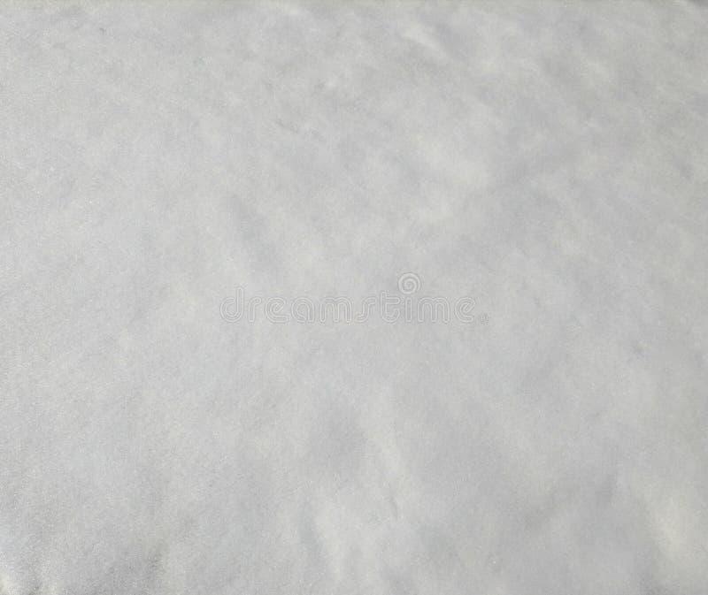 积雪的表面,与闪闪发光的纹理 免版税库存照片