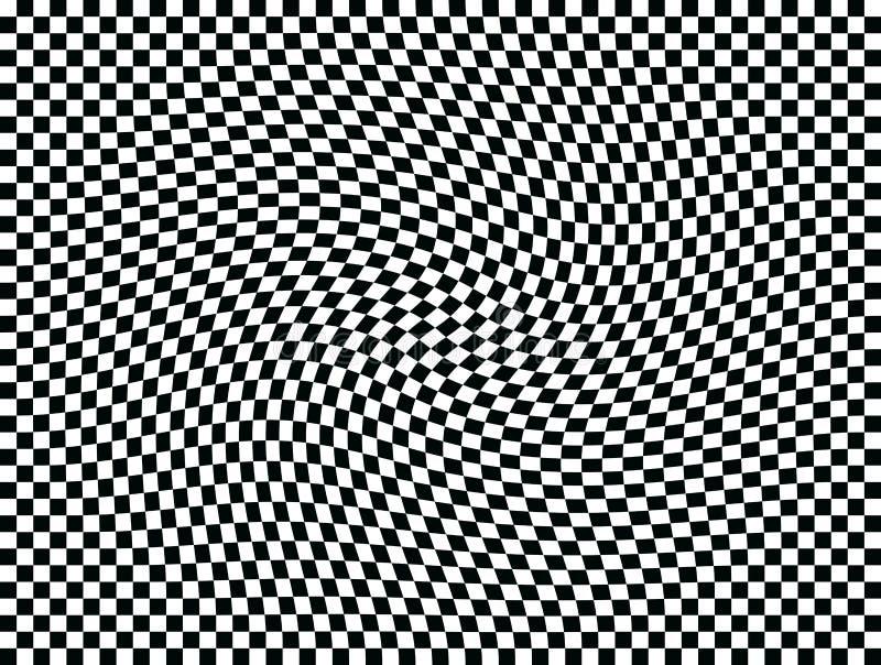 移动一操作正方形的艺术 向量例证