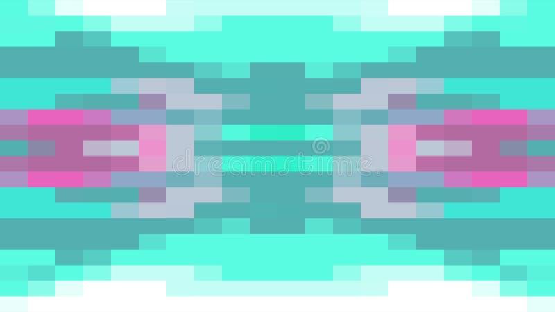 移动无缝的圈背景动画4新的质量普遍行动动力学的抽象映象点块给减速火箭赋予生命 皇族释放例证