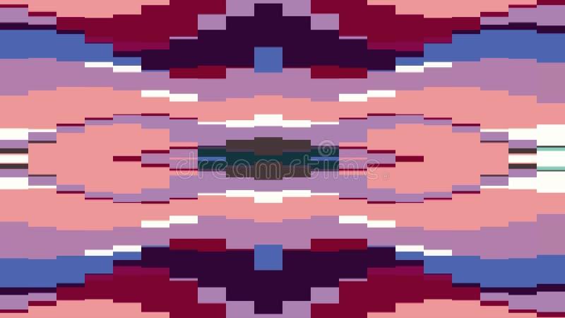 移动无缝的圈背景动画3新的质量普遍行动动力学的抽象映象点块给减速火箭赋予生命 皇族释放例证