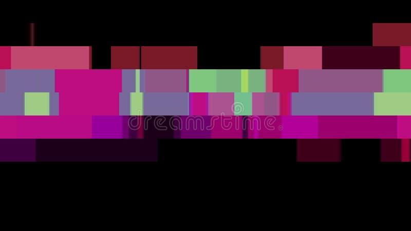 移动无缝的圈背景动画28新的质量普遍行动动力学的抽象映象点块给减速火箭赋予生命 皇族释放例证