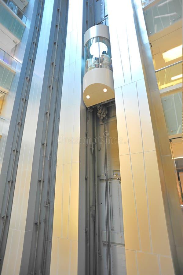 移动电梯 免版税图库摄影