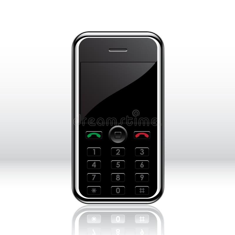 移动电话向量 向量例证