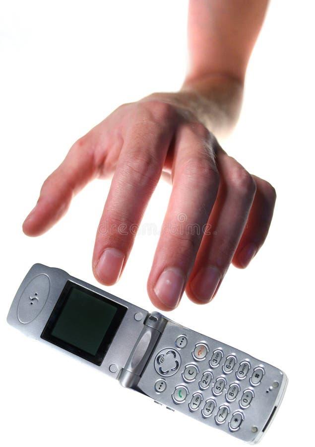 移动电话窃取 库存图片