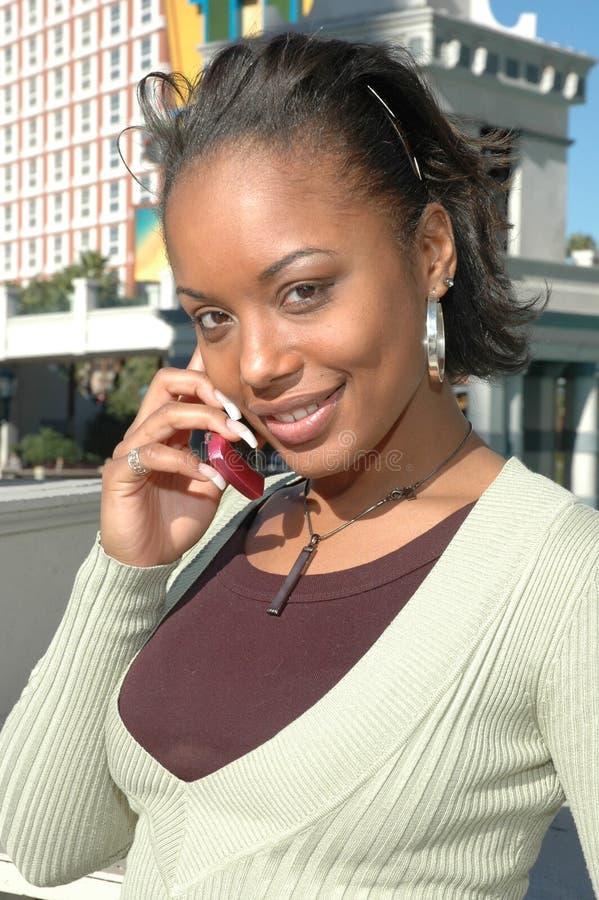 移动电话粉红色 免版税库存照片