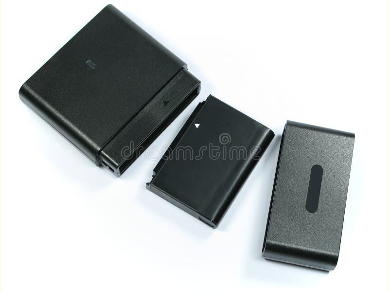 移动电话蓄电池充电器 免版税库存照片