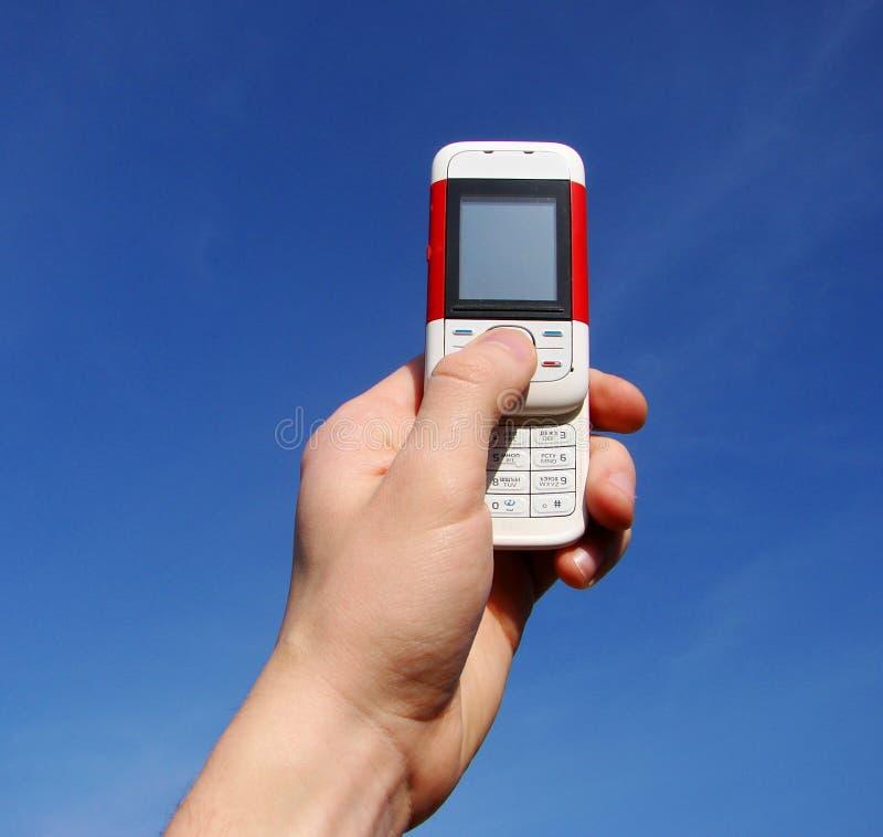 移动电话 库存图片
