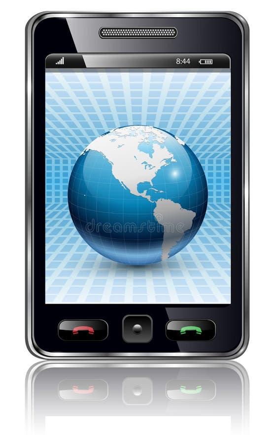 移动电话 向量例证