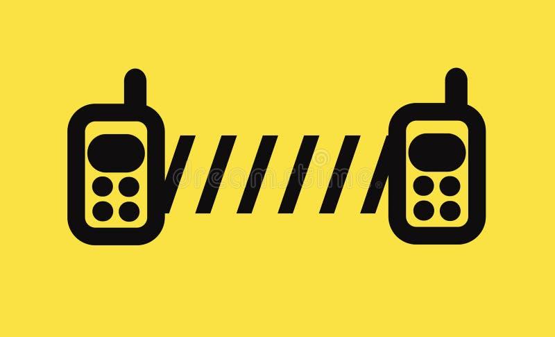 移动的通信 向量例证