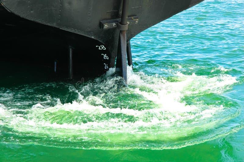 移动船 免版税库存图片