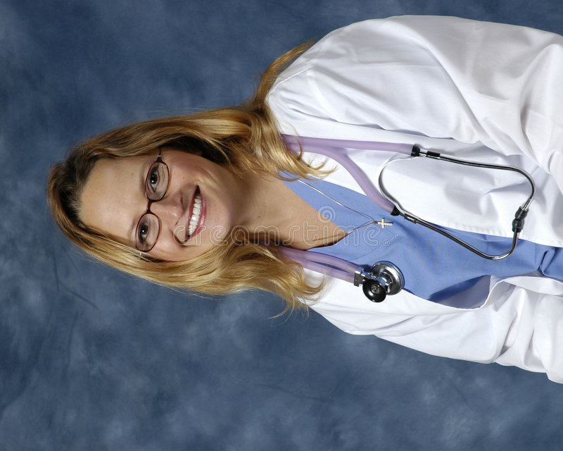 移情作用的护士 免版税图库摄影