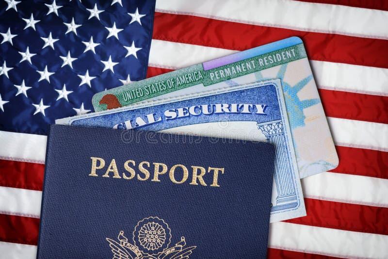 移民概念 免版税库存照片