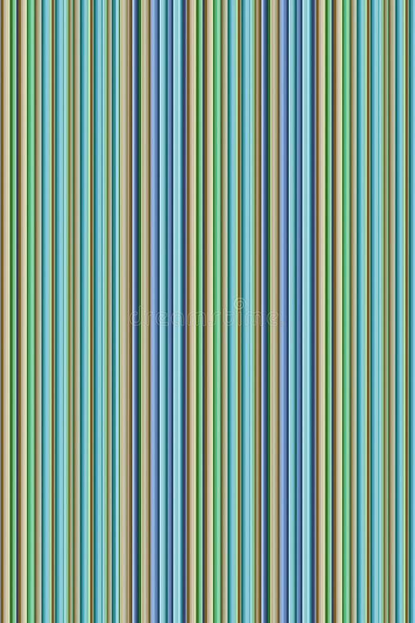 稀薄的重复的线木五颜六色的对比的青绿的米黄紫色垂直的有肋骨基地 库存照片