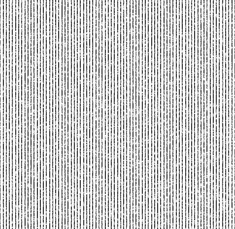 稀薄的黑难看的东西条纹的样式 免版税库存照片
