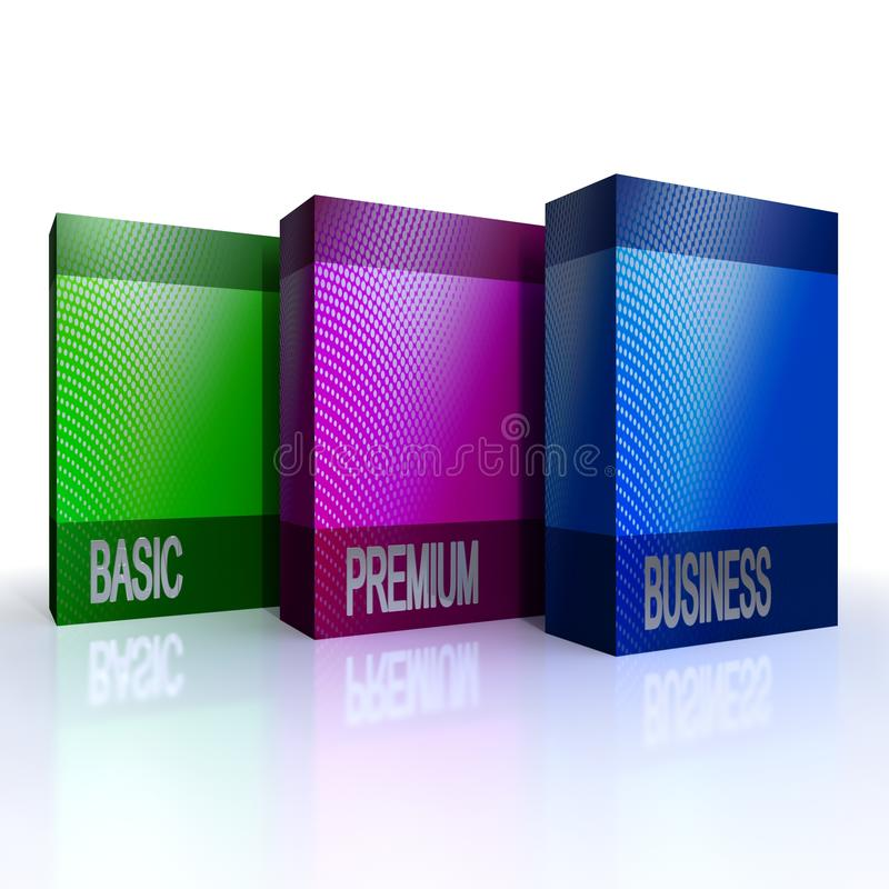 程序包服务软件 向量例证