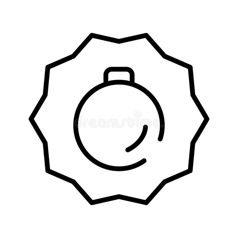税在白色背景隔绝的象传染媒介,税签字,线标志或在概述样式的线性元素设计 库存例证