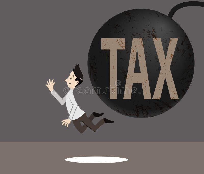 税标志崩溃人