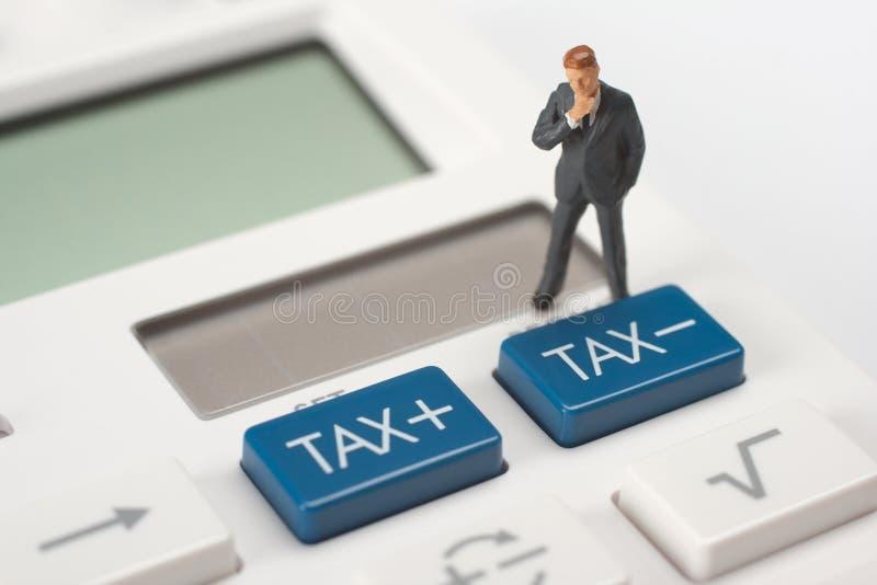 税概念 免版税库存照片