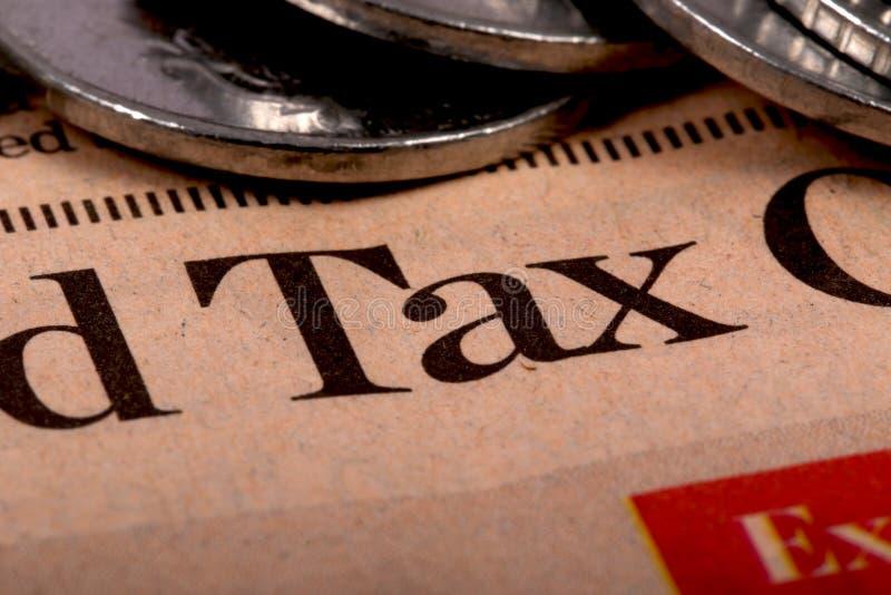 税焦点 免版税库存图片