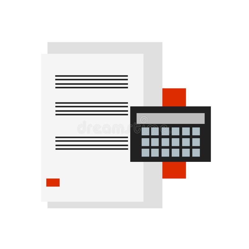 税象在白色背景和标志隔绝的传染媒介标志 向量例证
