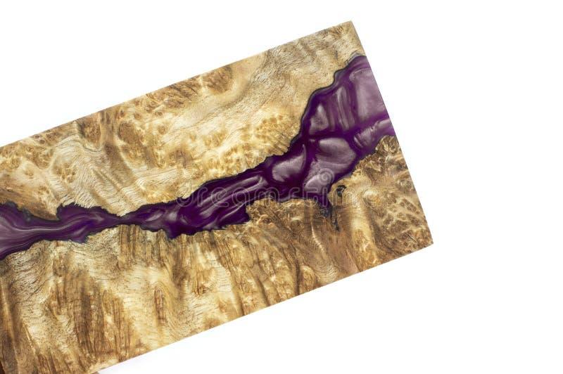 稳定Afzelia节异乎寻常的木红色背景,抽象派图片照片的环氧树脂 免版税库存照片