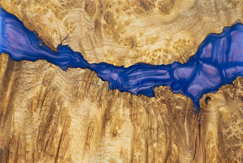 稳定Afzelia节异乎寻常的木红色背景,抽象派图片照片的环氧树脂 库存图片