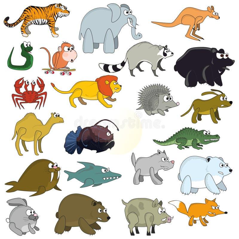 滑稽的动物 免版税库存照片