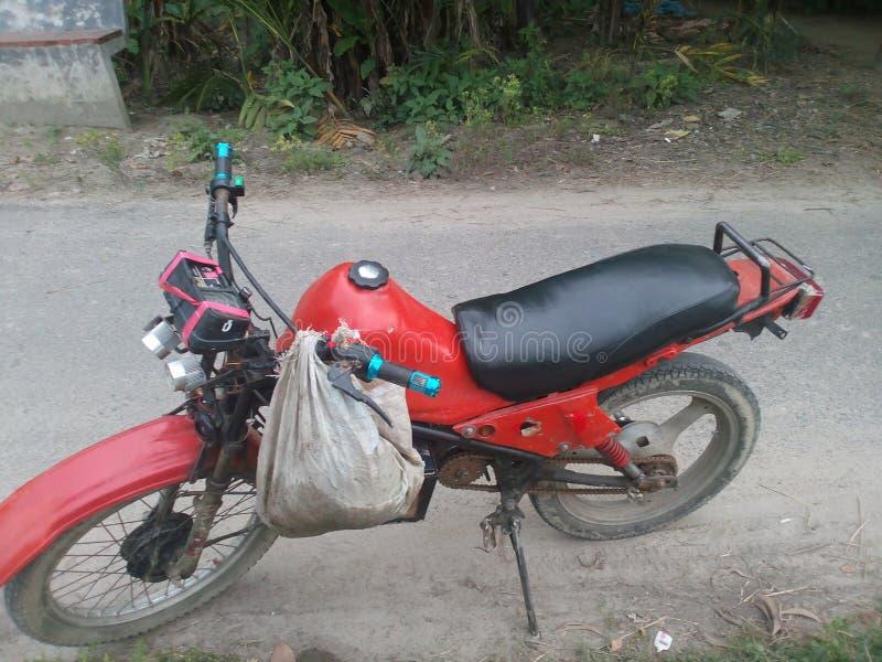 滑稽的摩托车 库存照片