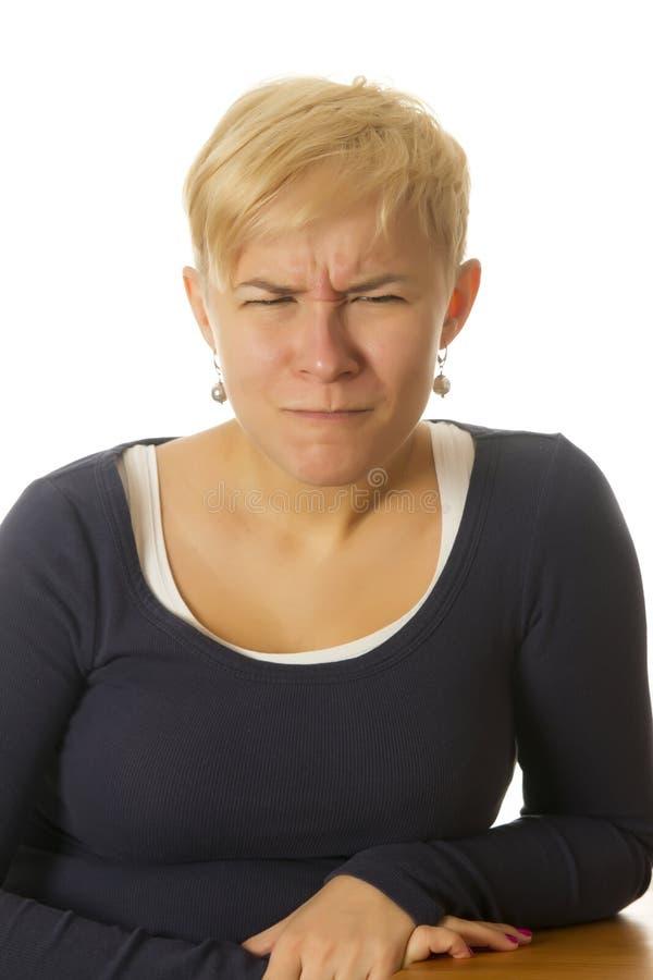 滑稽的面孔 免版税库存图片