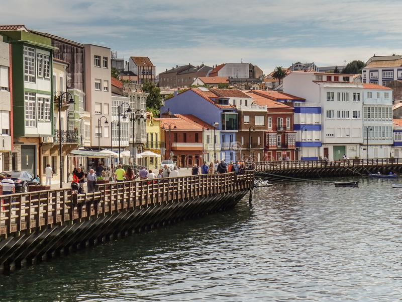 穆加尔多斯海步行  免版税库存图片