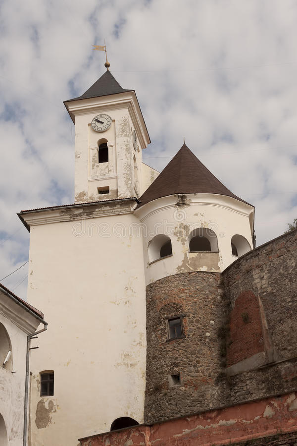穆卡切沃城堡Palanok 穆卡切沃历史博物馆 库存照片