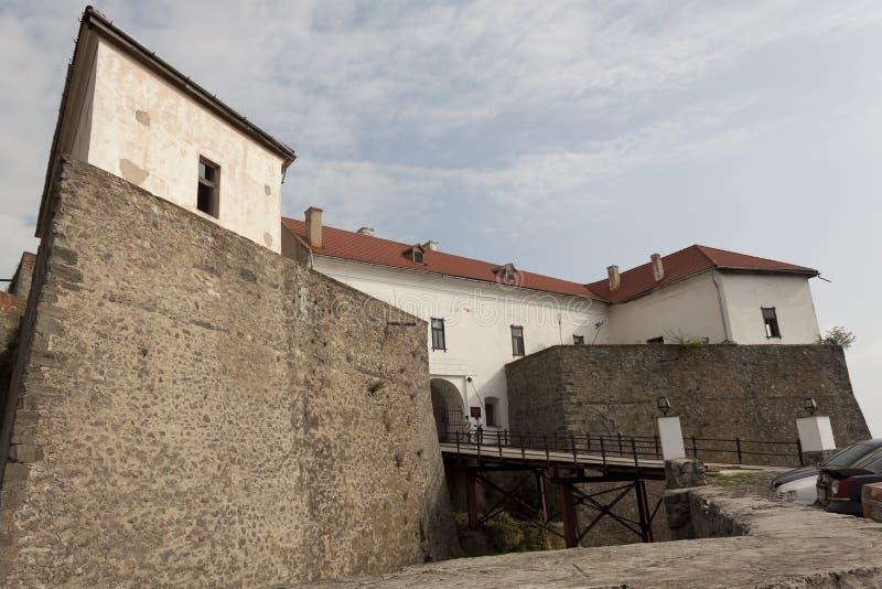 穆卡切沃城堡Palanok 穆卡切沃历史博物馆 库存图片