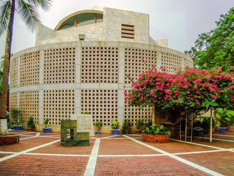穆吉布拉赫曼Tungipara,戈帕尔加恩杰,孟加拉国回教族长陵墓  图库摄影