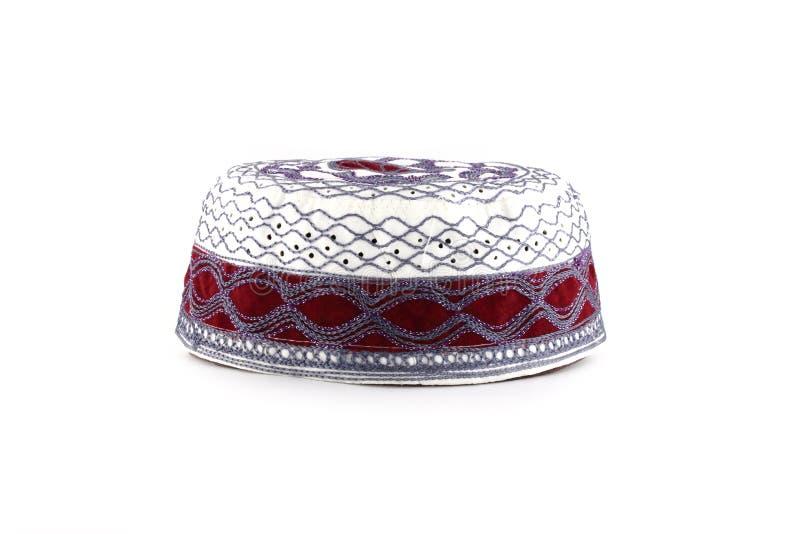 穆斯林的Kopiah帽子 免版税图库摄影