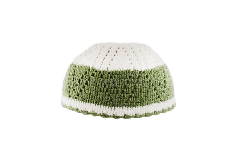 穆斯林的Kopiah帽子 免版税库存图片